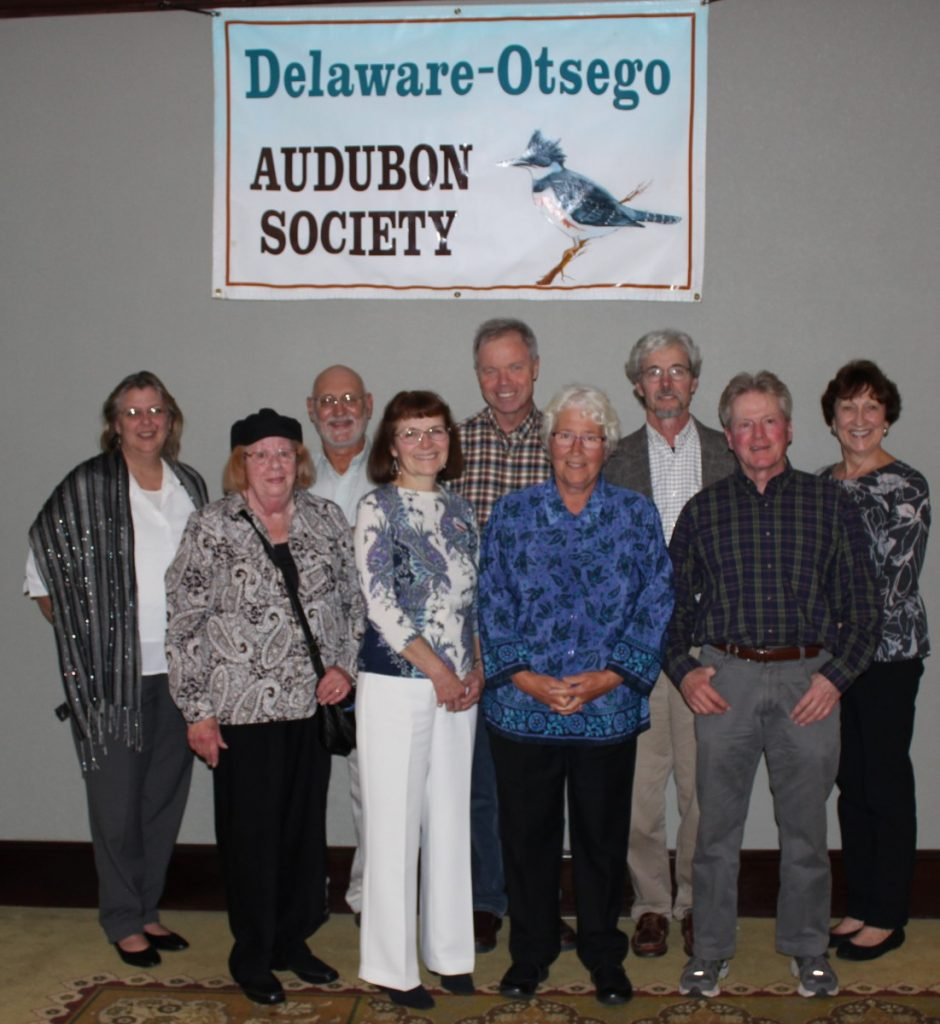 DOAS Board of Directors 2016 at our 49th Charter Dinner. Pictured (left to right) are Susan O'Handley, Julia Gregory, Andy Mason, Kathryn Davino, Bob Donnelly, Becky Gretton, Tom Salo, Charles Scheim, Janet Potter. Missing is Dorian Huneke.